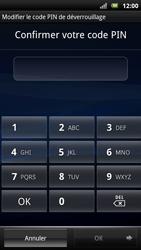 Sony Ericsson Xpéria Arc - Sécuriser votre mobile - Activer le code de verrouillage - Étape 9