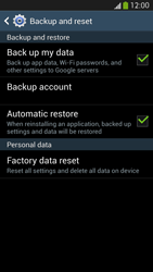 Samsung I9505 Galaxy S IV LTE - Device - Reset to factory settings - Step 7