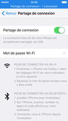 Apple iPhone SE - Internet et connexion - Utiliser le mode modem par USB - Étape 8