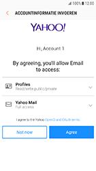 Samsung Xcover 4 - E-mail - handmatig instellen (yahoo) - Stap 9