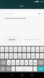 Huawei Ascend G7 - WiFi - Conectarse a una red WiFi - Paso 7