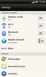 HTC C525u One SV - Internet - Usage across the border - Step 4