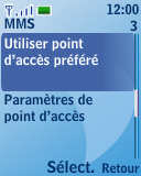 Nokia 3110 classic - Mms - Configuration manuelle - Étape 9