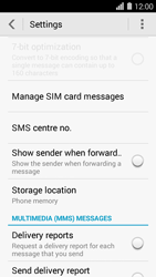 Huawei Ascend Y550 - SMS - Manual configuration - Step 5