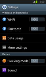 Samsung S7390 Galaxy Trend Lite - Network - Change networkmode - Step 5