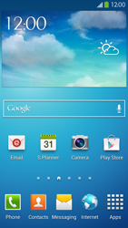 Samsung I9505 Galaxy S IV LTE - Applications - Create an account - Step 1