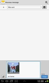 Samsung P3100 Galaxy Tab 2 7-0 - MMS - envoi d'images - Étape 12