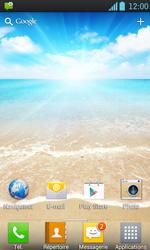 LG P700 Optimus L7 - Paramètres - Reçus par SMS - Étape 3