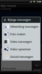 Sony Ericsson Xperia Arc S - MMS - afbeeldingen verzenden - Stap 13