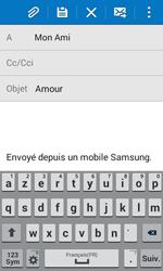 Samsung G355 Galaxy Core 2 - E-mail - envoyer un e-mail - Étape 8