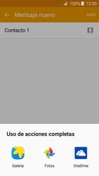 Samsung Galaxy A3 (2016) - Mensajería - Escribir y enviar un mensaje multimedia - Paso 18
