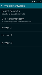 Samsung G900F Galaxy S5 - Network - Manually select a network - Step 9
