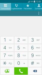 Samsung A500FU Galaxy A5 - Voicemail - Handmatig instellen - Stap 4