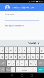 Huawei P8 - E-mail - Configurer l