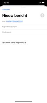 Apple iPhone XR - iOS 13 - E-mail - Bericht met attachment versturen - Stap 6