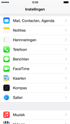 Apple iPhone 5c - iOS 8 - E-mail - handmatig instellen (yahoo) - Stap 3