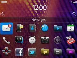 BlackBerry 9360 Curve - Paramètres - Reçus par SMS - Étape 9