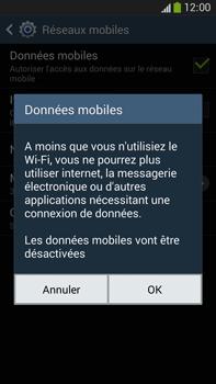 Samsung Galaxy Note 3 - Internet et connexion - Désactiver la connexion Internet - Étape 7