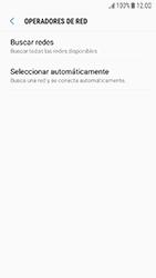 Samsung Galaxy J5 (2017) - Red - Seleccionar una red - Paso 7