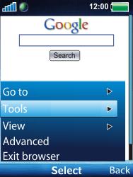 Sony Ericsson W100i Spiro - Internet - Internet browsing - Step 8