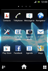 Sony ST23i Xperia Miro - Wifi - configuration manuelle - Étape 2