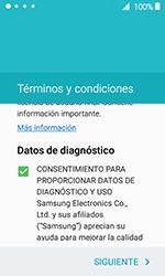 Samsung Galaxy J1 (2016) (J120) - Primeros pasos - Activar el equipo - Paso 6
