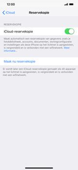 Apple iPhone XR - toestel resetten - back-up maken met jouw account - stap 14