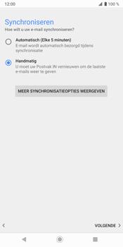 Sony Xperia XZ3 - E-mail - e-mail instellen (yahoo) - Stap 10