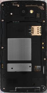 LG Leon - Primeros pasos - Quitar y colocar la batería - Paso 3