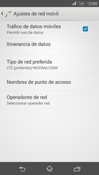 Sony Xperia E4g - Red - Seleccionar el tipo de red - Paso 6