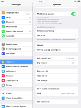 Apple iPad 4th generation iOS 8 - Resetten - Fabrieksinstellingen terugzetten - Stap 4