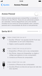 Apple iPhone iOS 11 - Wi-Fi - Como usar seu aparelho como um roteador de rede wi-fi - Etapa 4