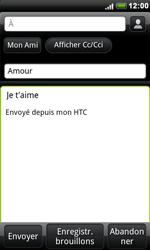 HTC S510e Desire S - E-mail - envoyer un e-mail - Étape 7