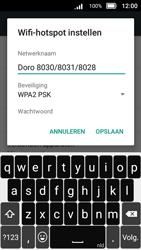 Doro 8031 (Model DSB-0010) - WiFi - Mobiele hotspot instellen - Stap 10