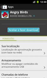 Samsung I9100 Galaxy S II - Aplicativos - Como baixar aplicativos - Etapa 8