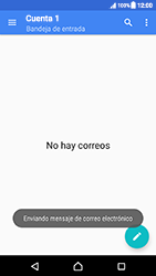 Sony Xperia XZ (F8331) - E-mail - Escribir y enviar un correo electrónico - Paso 16