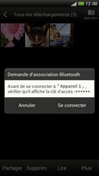 HTC One S - Photos, vidéos, musique - Envoyer une photo via Bluetooth - Étape 13