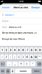 Apple iPhone 5s - iOS 12 - E-mail - envoyer un e-mail - Étape 7