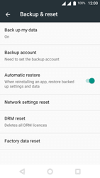 Wiko U-Feel Lite - Device - Reset to factory settings - Step 6