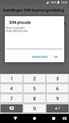 Sony Xperia XA2 (H3113) - Beveiliging en ouderlijk toezicht - Hoe wijzig ik mijn SIM PIN-code - Stap 7