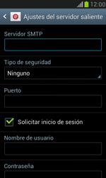 Samsung Galaxy S3 Mini - E-mail - Configurar correo electrónico - Paso 12