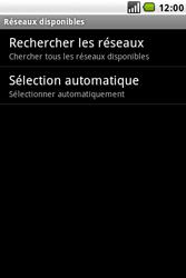 LG GW620 - Réseau - utilisation à l'étranger - Étape 11