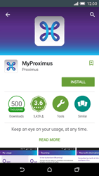 HTC One M9 - Applications - MyProximus - Step 7