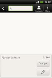 HTC A320e Desire C - MMS - envoi d'images - Étape 3