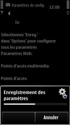 Nokia 500 - MMS - configuration automatique - Étape 9