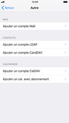 Apple iPhone 6 - iOS 12 - E-mail - Configuration manuelle - Étape 7