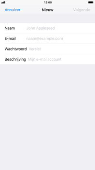 Apple iPhone 8 Plus - E-mail - Account instellen (IMAP zonder SMTP-verificatie) - Stap 7