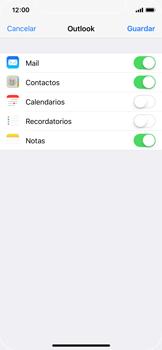 Apple iPhone X - E-mail - Configurar Outlook.com - Paso 9
