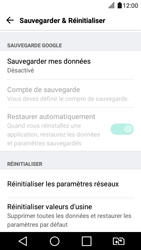 LG K4 2017 - Device maintenance - Retour aux réglages usine - Étape 6