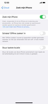 Apple iphone-xs-max-met-ios-13-model-a1921 - Beveiliging en ouderlijk toezicht - Zoek mijn iPhone inschakelen - Stap 12
